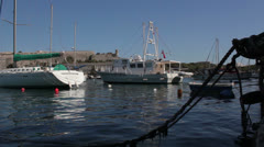 Maltese impressions - boating Stock Footage