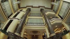 Columns in Hotel Stock Footage