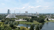 Stock Video Footage of Olympic stadium Munich