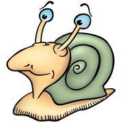 Little Snail Stock Illustration
