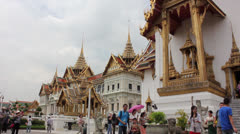 Grand palace thailand Stock Footage