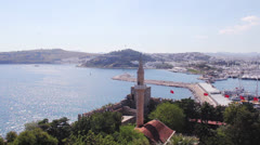 Bodrum view panorama Stock Footage