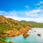 costa paradiso, sardinia - stock photo