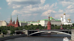 Moscow Kremlin. Russia - stock footage