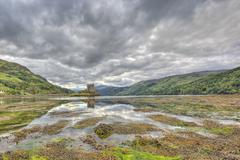 Eilean Donan castle, Highlands, Scotland, UK Stock Photos