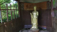 Buddhist Shrine on Guam Stock Footage