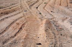 Impassable terrain in kazakhstan Stock Photos