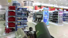 Shoping cart Stock Footage