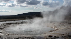 Slowmo geyser down HQ Stock Footage