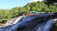 Talofofo Falls; Guam Stock Footage