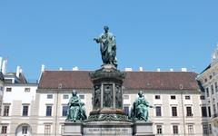 kaiser franz monument in vienna - stock photo