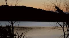 HD Stock Footage 1080p - River at sundown/dusk Stock Footage