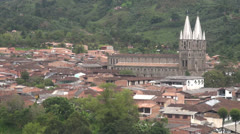 Small Towns, Pueblos, Villages, Urbanization - stock footage