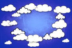 Cloudy. Stock Illustration
