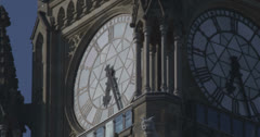 Canadian Parliament Clock - Ultra High Definition 5K Stock Footage