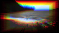 Prism zoom in Stock Footage