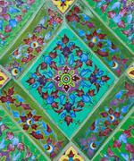 thai ceramic decorate - stock photo