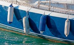 Boat fenders Stock Photos