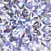 diamond geometric pattern of colored brilliant triangles - stock illustration