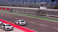 Stock Video Footage of Race track. Audi R8 test