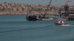 Maltese impressions - Harbor _27 Stock Footage