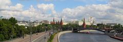 The Moscow Kremlin. - stock photo