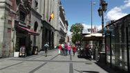 Stock Video Footage of Calle Alcala Madrid Spain 1