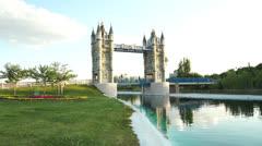 London Bridge reproduction - stock footage