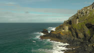 Stock Video Footage of Botallack Mine Awesome
