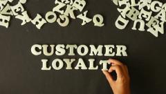Customer Loyalty - stock footage