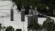 Stock Video Footage of Madrid Spain 5 entrance Casa De Campo