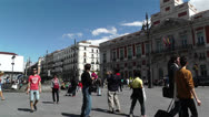 Stock Video Footage of Madrid Spain Puerta Del Sol 1