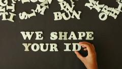 We shape Your Ideas Stock Footage