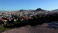 Stock Video Footage of Mars Hill Wide View - Athens, Greece
