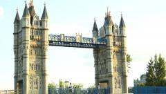 London Bridge, reproduction - stock footage