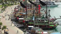 Stock Video Footage of Alanya Turkey 2