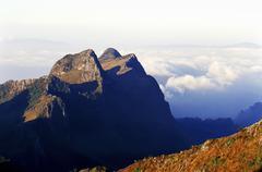 Chiang dao mountain , thailand Stock Photos