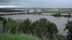 Calgary Flood 2013 Stock Footage