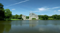 Stock Video Footage of Chateau de la Bretesche - Missillac France