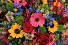 Stock Photo of colorful bouquet