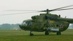 Stock Video Footage of Mi-8