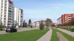 View of Slavutych. Stock Footage