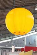 advertising balloon - stock photo