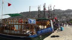 Stock Video Footage of Alanya Turkey 85 port