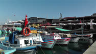 Stock Video Footage of Alanya Turkey 92 port