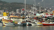 Stock Video Footage of Alanya Turkey 95 port