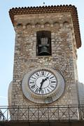 Clock tower cannes Stock Photos