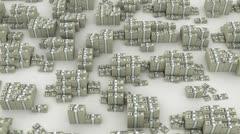 Dollar infinity - stock footage