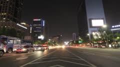 Gwanghwamun Center Stock Footage
