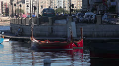 Maltese impressions - the boat Stock Footage
